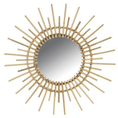 Miroir rotin soleil  - Objets et accessoires design