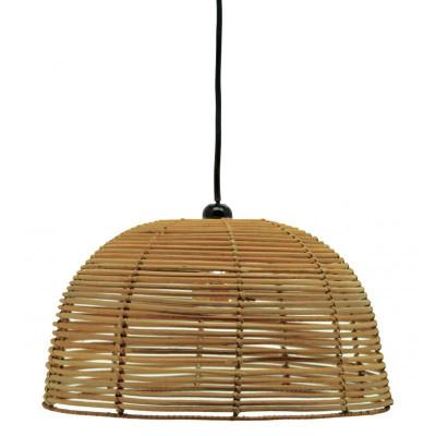 Abat-jour en rotin ajouré  - Lampes décoratives
