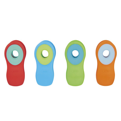 Set de 4 clips magnétiques  - Fournitures de bureau