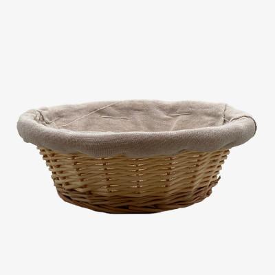 Corbeille en osier ronde  - Paniers & corbeilles
