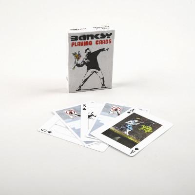 Jeux 55 cartes Bansky  - Cartes à jouer