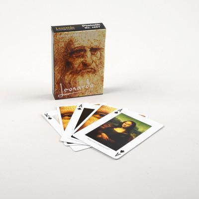 Jeux 55 cartes Léonard de Vinci  - Cartes à jouer