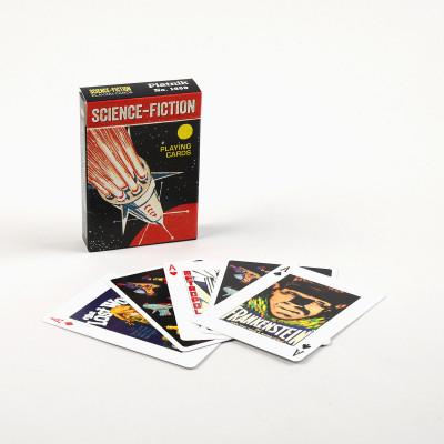 Jeux 55 cartes Science Fiction  - Cartes à jouer