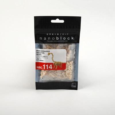 Nanoblock Squelette de brachiosaure  - Nanoblock
