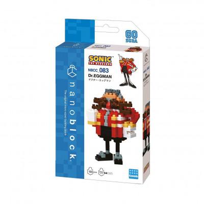 Nanoblock Sonic Eggman / Dr. Robotnik  - Nanoblock
