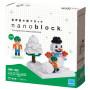 Nanoblock Play in the Snow  - Nanoblock