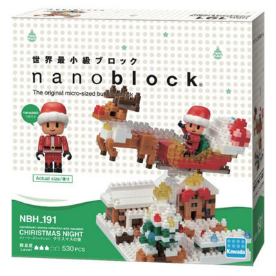 Nanoblock Christmas Night  - Nanoblock