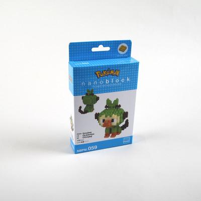 Nanoblock Pokemon Grookey / Ouistempo  - Nanoblock Pokemon