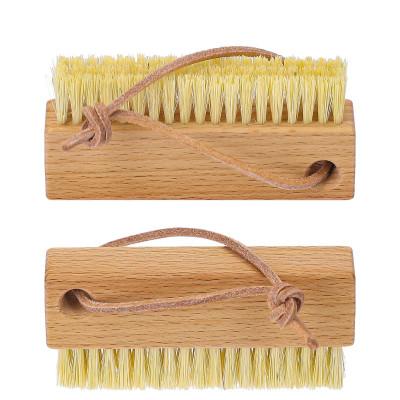 Brosse à ongles bois hêtre huilé  - Brosserie