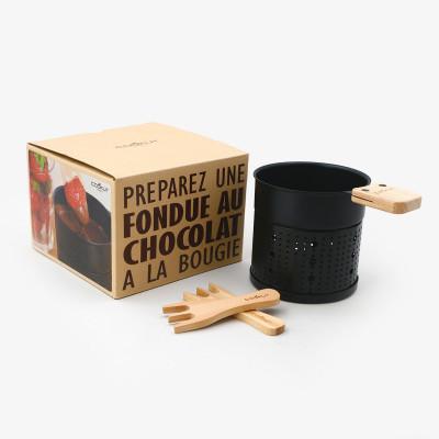 Fondue au chocolat à la bougie  - Kits et préparations
