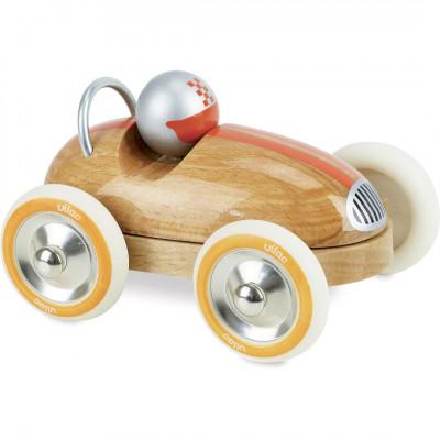 Voiture roadster vintage en bois  - Voitures miniatures