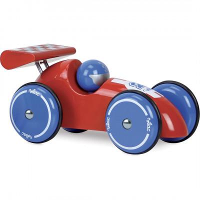 Voiture de course en bois XL  - Voitures miniatures