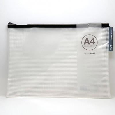 Zipper bag A4  - Fournitures de bureau